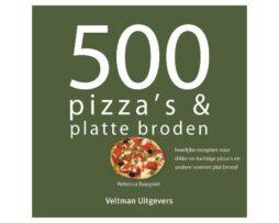 500 pizza' s en broden recepten