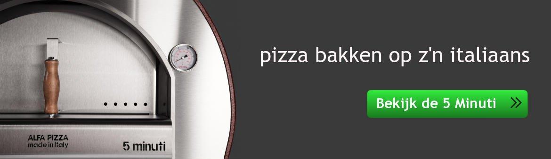 houtoven 5 minuti alfa pizza