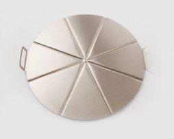 pizza plateau aluminium 8 pizzapunten