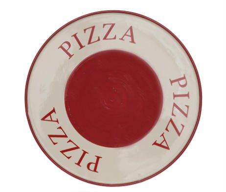 pizzabord aardewerk