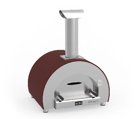 Alfa - 5 Minuti - houtoven - kleur oudrood