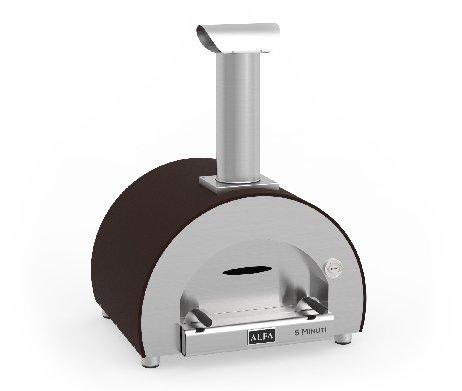 Alfa - 5 Minuti - pizzaoven - kleur koperbruin