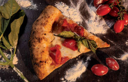 bloem water gist zout passie - napolitaanse pizza