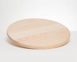 pizzaplank rond 40cm beukenhout