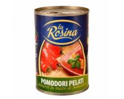 gepelde tomaten in blik uit Italie