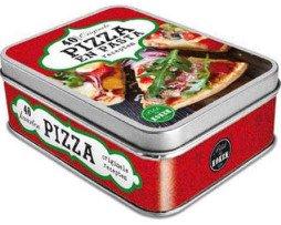 blik pizza en pasta recepten