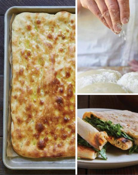 Plaatpizza maken, uit het boek De Pizza Elementen