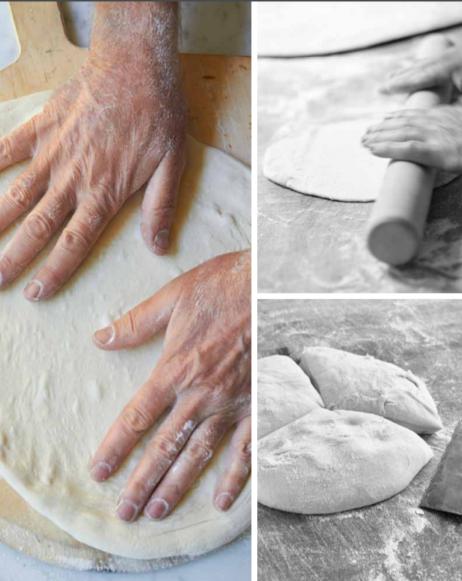 Pizzadeeg maken, uit het boek De Pizza Elementen