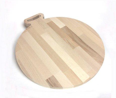 pizzaplank hout met handvat