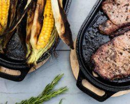 Uuni Sizzler pan voor groente en vlees