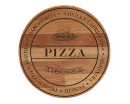 pizzaplank met opdruk