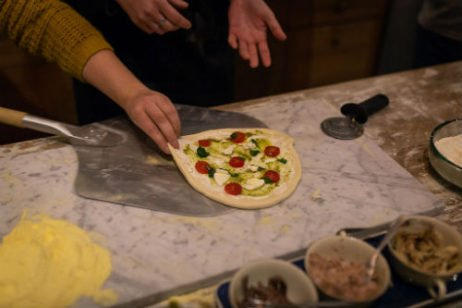 pizza workshop italieplein: pizzaschep