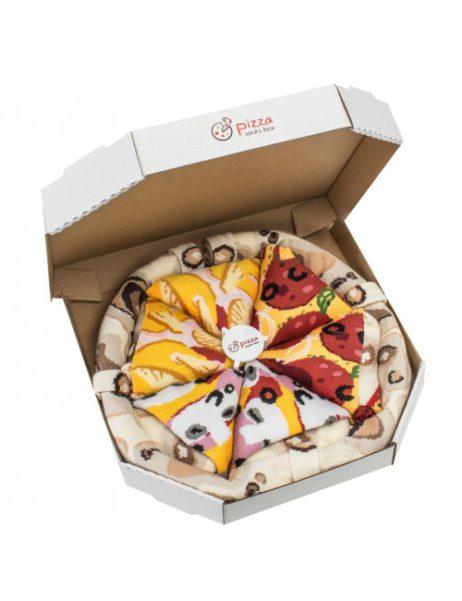 pizza sokken - mix Hawai, Capriciosa en Pepperoni