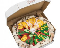 pizza sokken - mix Italia, Hawai en Vega