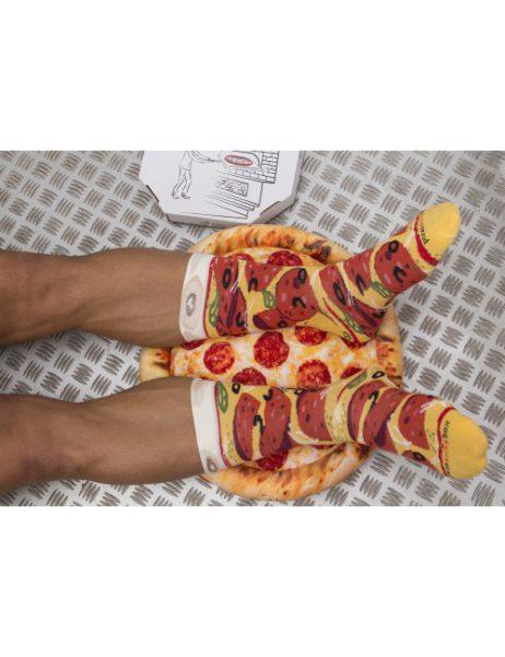 pizza sokken - pepperoni