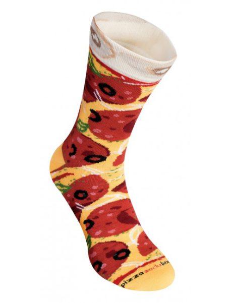 pizza sokken pepperoni