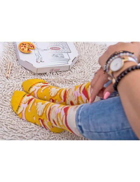 pizza sokken - pizza hawai