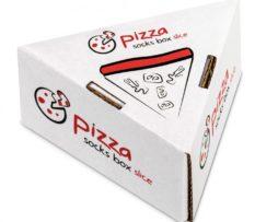 pizzapunt - 1 paar pizza sokken