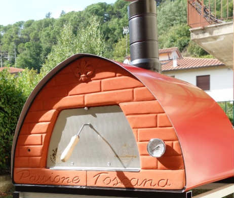 "pizza party houtoven met ""passione toscana"" front"