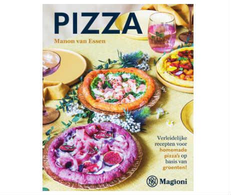 Pizza op basis van groente manon van essen