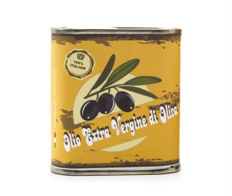 blikje Italiaanse olijfolie extra vergine