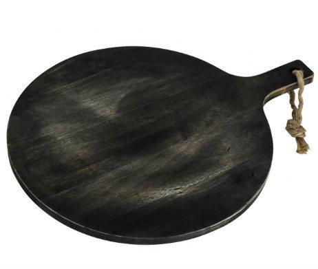 pizzaplank acacia zwart