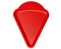 pizzabord 'triangolare' (rood)