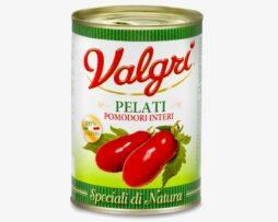 Hele gepelde tomaten Valgri