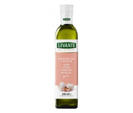 Olijfolie met knoflook - Levante