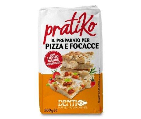 Pratiko, mix voor pizza focaccia - Molino Denti