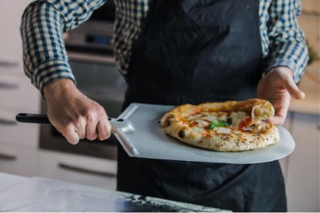 pizzaschep amica classica met korte steel