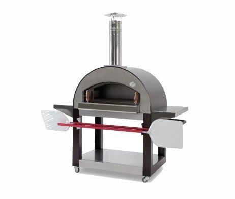 Karmek One pizzaoven houtoven met onderstel