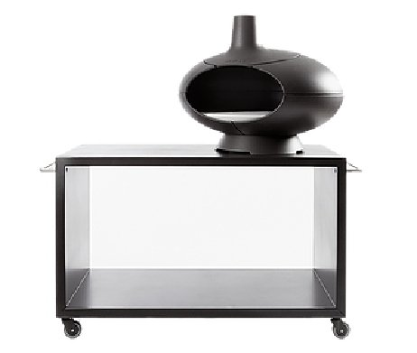 Buitentafel voor pizzaovens (o.a. voor Morso Forno) pizza oven