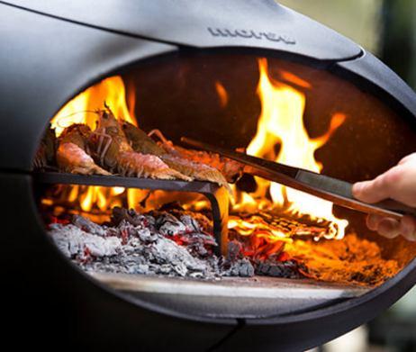 Visgerecht bereiden in de Morso Forno oven
