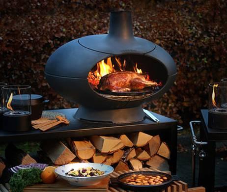 Vleesgerecht bereiden in de Morso Forno oven