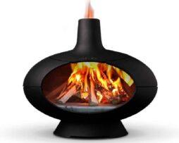 Morso forno oven met vuur