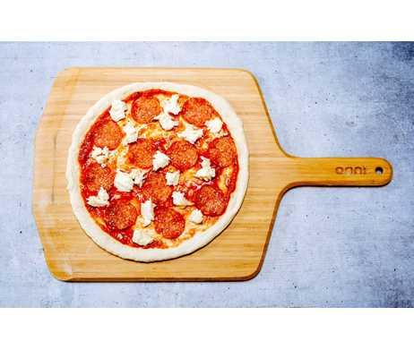 Ooni houten pizzaschep boven