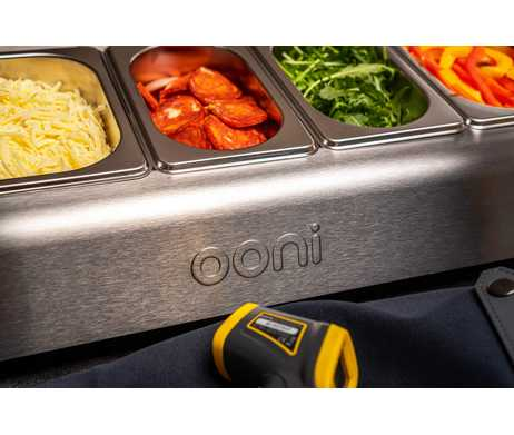 Ooni topping station IR