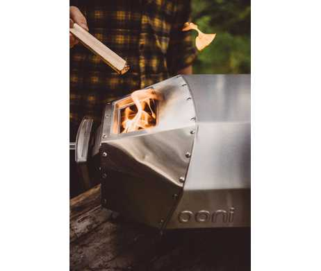Ooni oven hout vuur